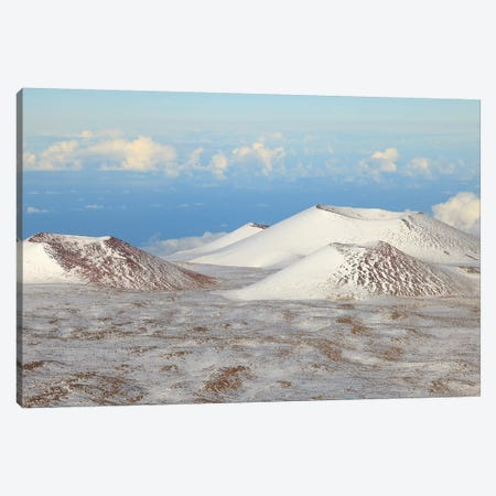 View from Maunakea Observatories (4200 meters), The summit of Maunakea on the Island of Hawaii 3-Piece Canvas #SWE102} by Stuart Westmorland Canvas Art Print