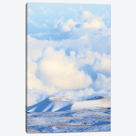 View from Maunakea Observatories (4200 meters), The summit of Maunakea on the Island of Hawaii 3-Piece Canvas #SWE103} by Stuart Westmorland Canvas Art Print
