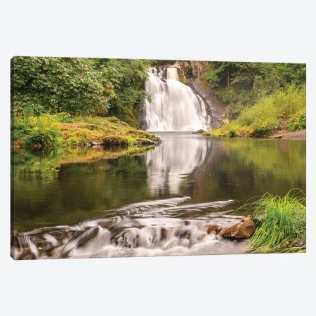 Youngs Falls near Astoria, Oregon Canvas Print #SWE111} by Stuart Westmorland Canvas Art