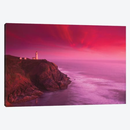 North Head Lighthouse, Ilwaco, Washington State Canvas Print #SWE23} by Stuart Westmorland Canvas Art