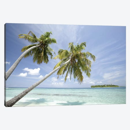 North Huvadhoo Atoll, Southern Maldives, Indian Ocean Canvas Print #SWE24} by Stuart Westmorland Art Print
