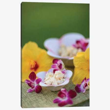 Aloe Butter and Ginger Lime, outdoor Spa, Wailea, Maui, Hawaii, USA Canvas Print #SWE29} by Stuart Westmorland Canvas Artwork