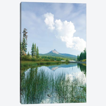 Big Lake, Willamette National Forest, Mt. Washington, Central Oregon Canvas Print #SWE36} by Stuart Westmorland Canvas Wall Art