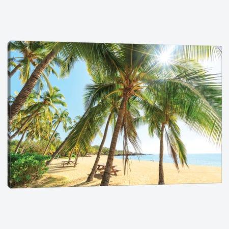 Hulopo'e Beach Park, Lanai Island, Hawaii, USA Canvas Print #SWE50} by Stuart Westmorland Canvas Art Print