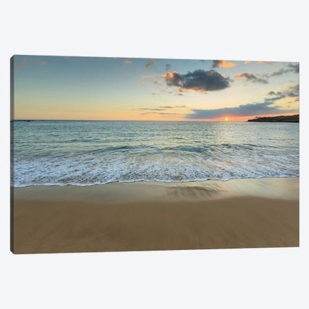 Hulopo'e Beach Park, Lanai Island, Hawaii, USA Canvas Print #SWE51} by Stuart Westmorland Canvas Art Print
