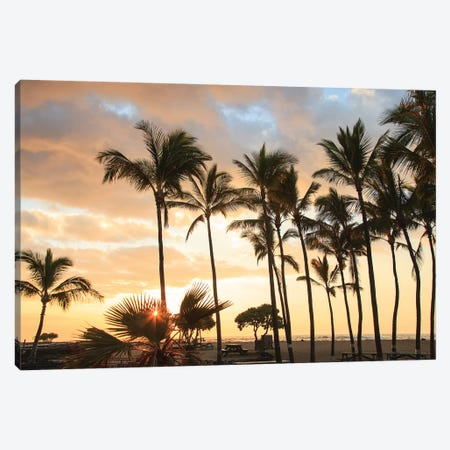 Kaloko-Honokohau Beach Park near Kona, Big Island, Hawaii, USA Canvas Print #SWE54} by Stuart Westmorland Canvas Artwork