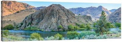 Lower Deschutes River, Central Oregon, USA Canvas Art Print