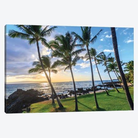 Small beach in Makena area, Maui, Hawaii, USA Canvas Print #SWE69} by Stuart Westmorland Canvas Wall Art