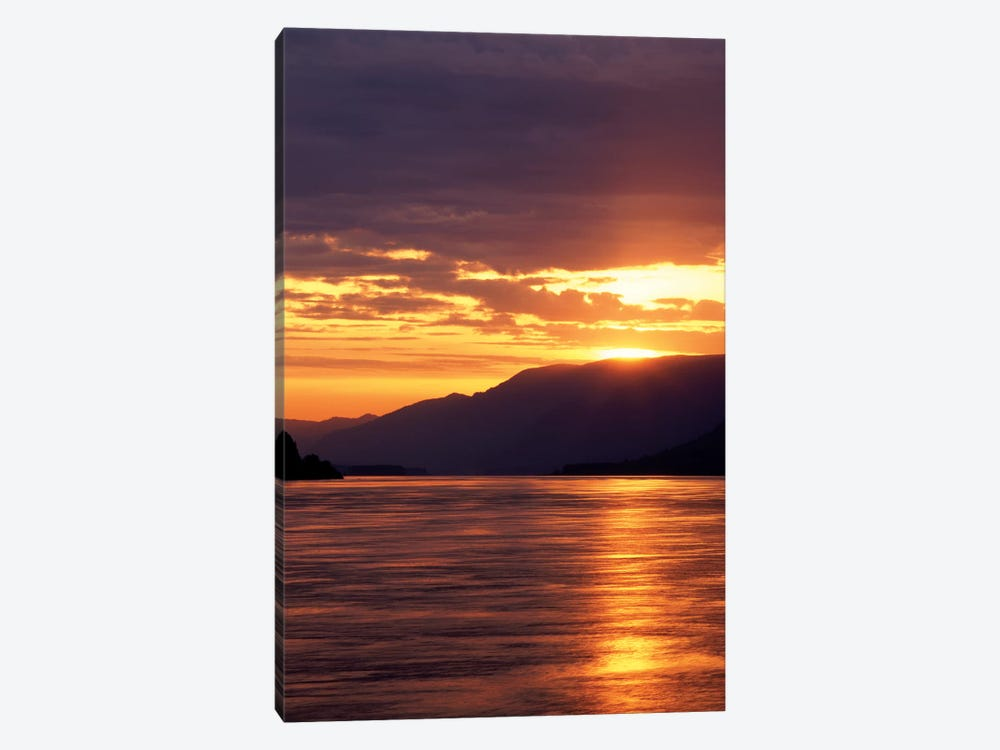 Columbia River Gorge At Sunset, Oregon, USA by Stuart Westmorland 1-piece Canvas Wall Art