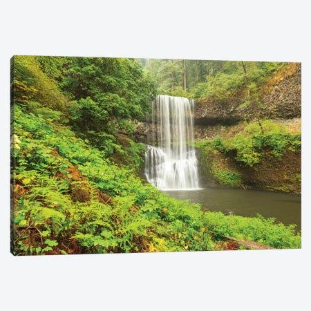 Trail of Ten Falls, Silver Falls State Park, near Silverton, Oregon Canvas Print #SWE94} by Stuart Westmorland Canvas Wall Art