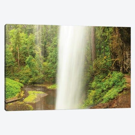 Trail of Ten Falls, Silver Falls State Park, near Silverton, Oregon Canvas Print #SWE97} by Stuart Westmorland Canvas Wall Art