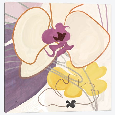 Orchid I Canvas Print #SWH11} by Evelia Designs Canvas Art