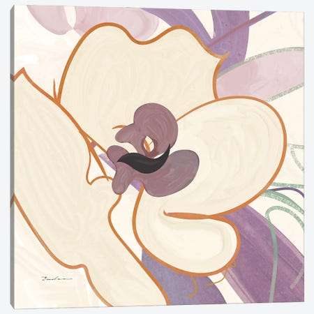 Orchid II Canvas Print #SWH12} by Evelia Sowash Canvas Wall Art
