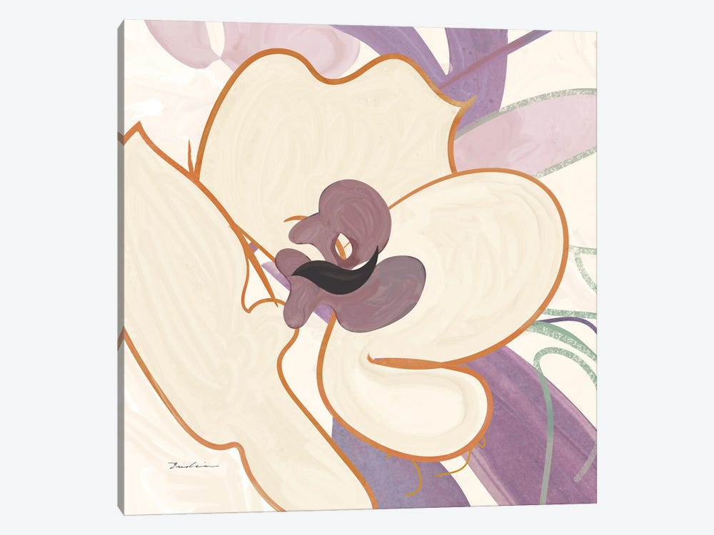 Orchid II by Evelia Designs 1-piece Canvas Wall Art