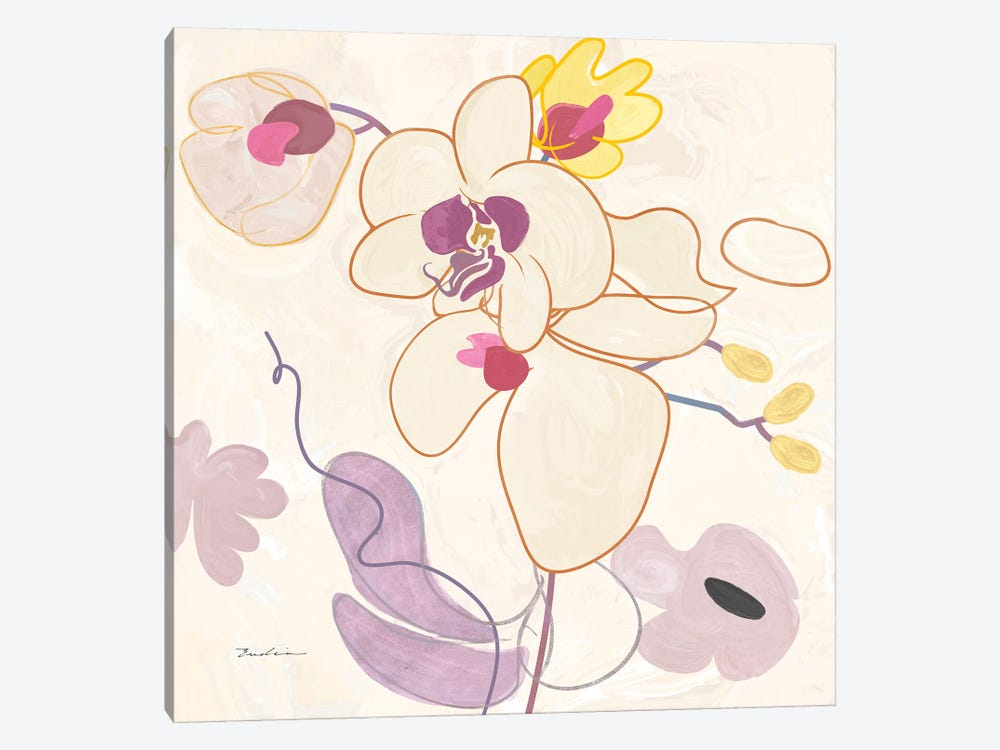 Orchid IV by Evelia Designs 1-piece Canvas Art Print
