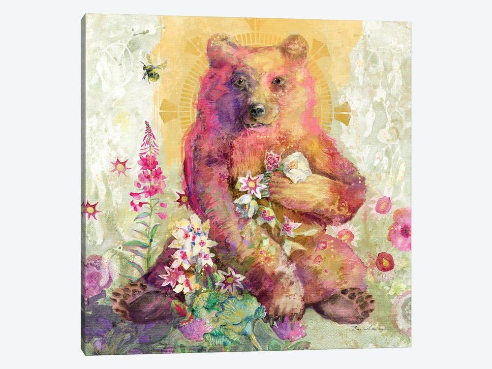 Rose The Bear by Evelia Designs 1-piece Canvas Artwork
