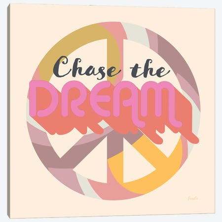 Chase The Dream Canvas Print #SWH1} by Evelia Designs Canvas Print