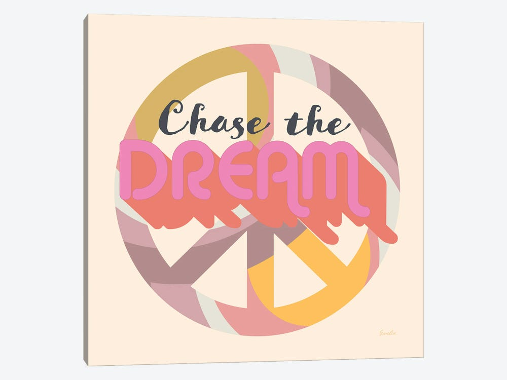 Chase The Dream by Evelia Designs 1-piece Canvas Art
