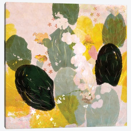 Mexican Nopal Cactus I Canvas Print #SWH7} by Evelia Designs Canvas Wall Art