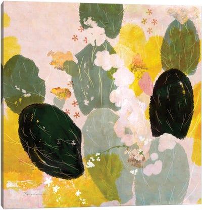 Mexican Nopal Cactus I Canvas Art Print