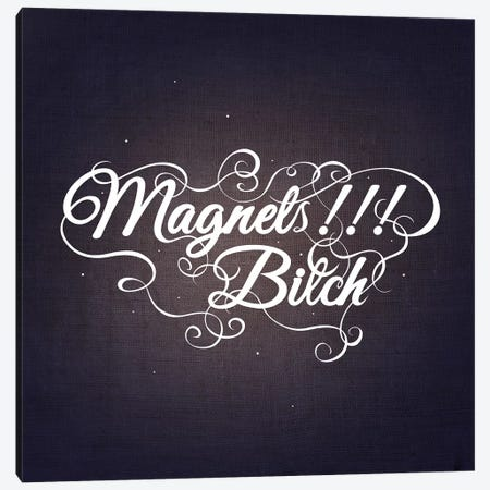 Magnets Bitch III Canvas Print #SWS20} by 5by5collective Canvas Artwork