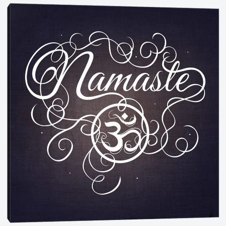 Namaste Canvas Print #SWS21} by 5by5collective Canvas Artwork