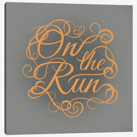 On the Run Canvas Print #SWS25} by 5by5collective Canvas Art Print