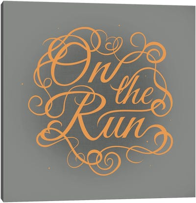 On the Run Canvas Art Print