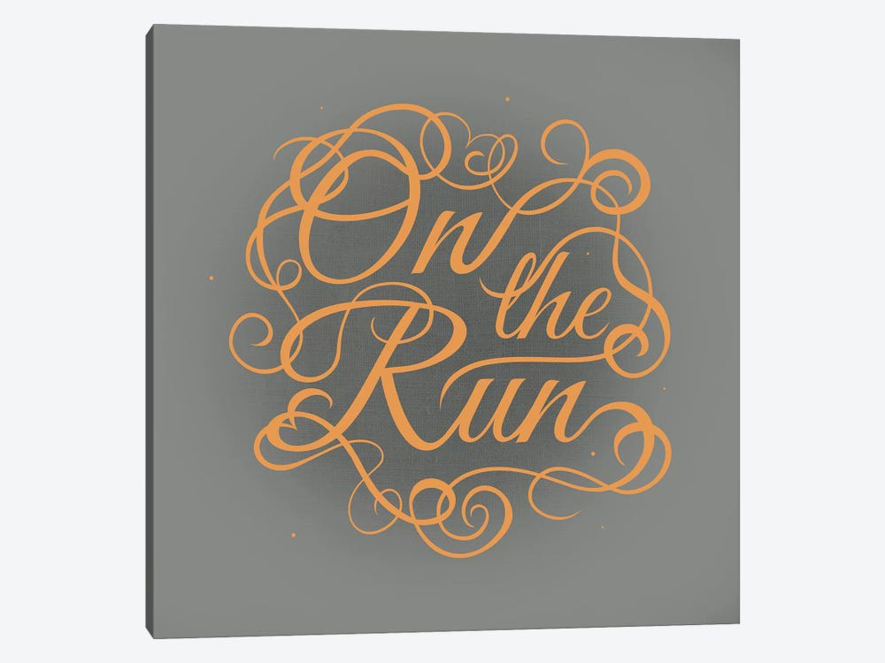 On the Run by 5by5collective 1-piece Canvas Artwork