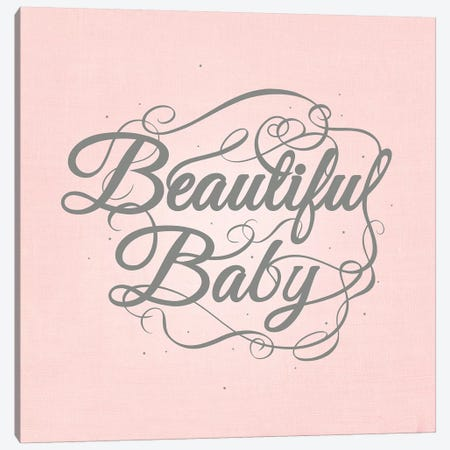 Beautiful Baby Canvas Print #SWS28} by 5by5collective Canvas Art