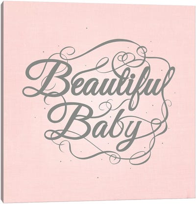 Beautiful Baby Canvas Art Print