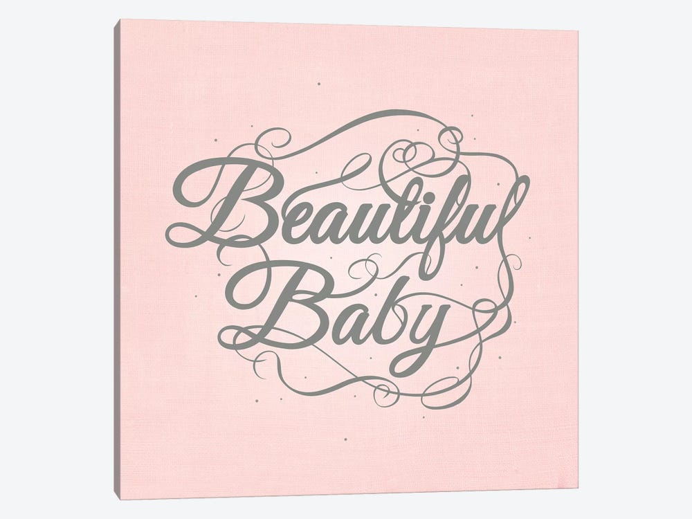 Beautiful Baby by 5by5collective 1-piece Canvas Print
