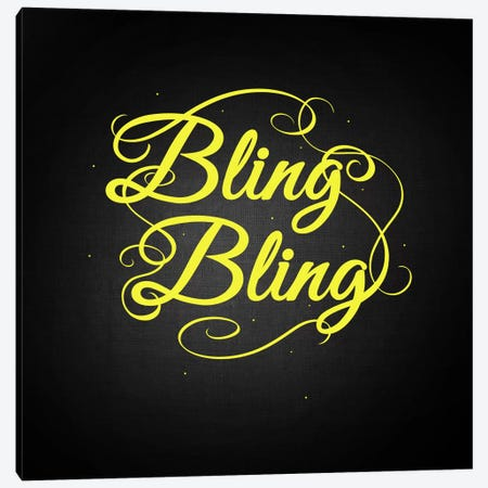 Bling Bling Canvas Print #SWS29} by 5by5collective Canvas Artwork