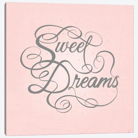 Sweet Dreams Canvas Print #SWS37} by 5by5collective Canvas Art