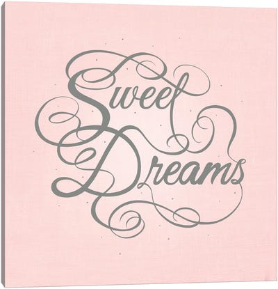 Sweet Dreams Canvas Art Print
