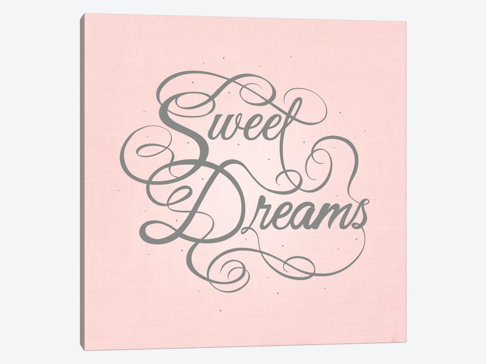 Sweet Dreams by 5by5collective 1-piece Canvas Print