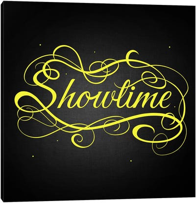 Showtime Canvas Art Print