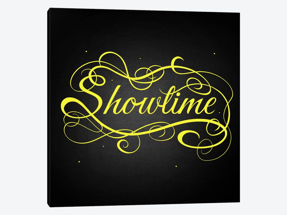 Showtime 1-piece Canvas Artwork