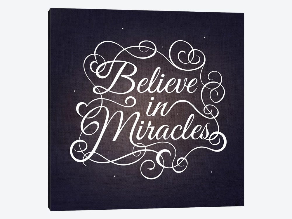 Believe in Miracles by 5by5collective 1-piece Art Print