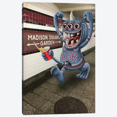 LGR Canvas Print #SWY21} by Subway Doodle Canvas Art