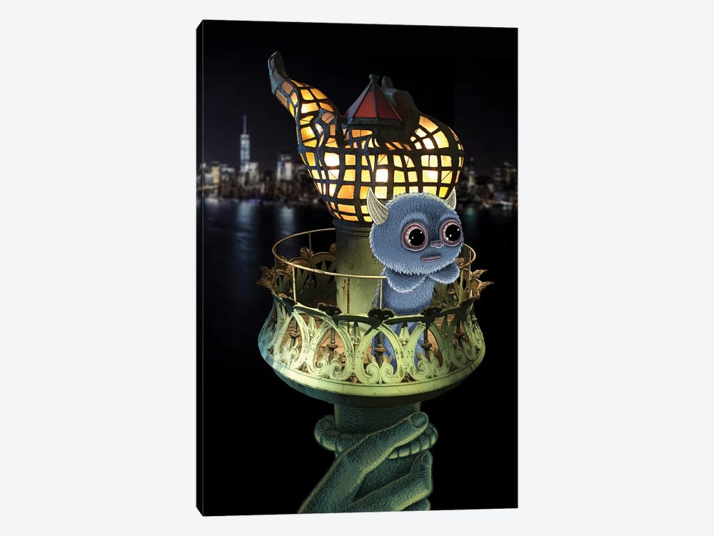 Liberty by Subway Doodle 1-piece Canvas Print