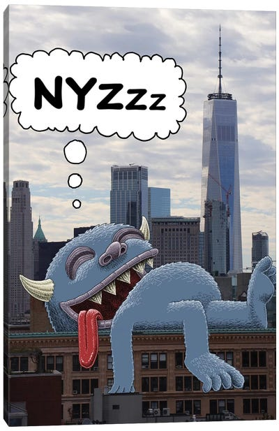 Nyzzz Canvas Art Print