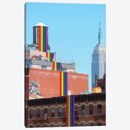 Pride Canvas Print #SWY30} by Subway Doodle Canvas Art Print
