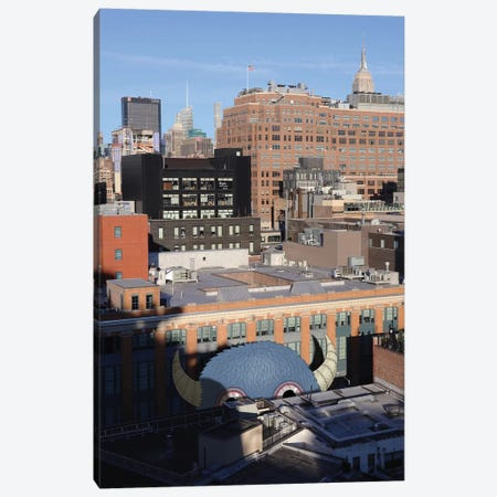 View From The Whitney Canvas Print #SWY53} by Subway Doodle Canvas Print