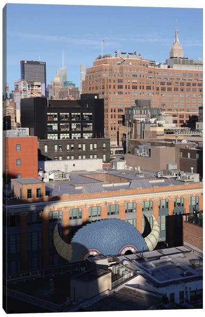 View From The Whitney Canvas Art Print