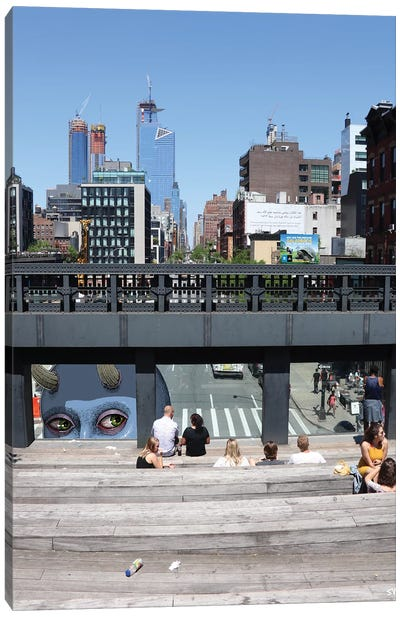 High Line Giant Canvas Art Print
