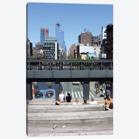 High Line Giant Canvas Print #SWY71} by Subway Doodle Art Print
