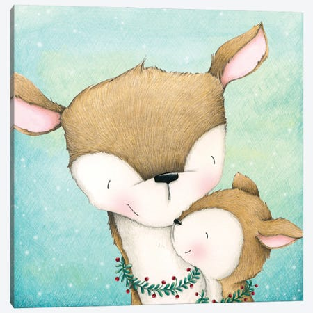 Sweet Dear One Canvas Print #SYA118} by Stacey Yacula Canvas Artwork