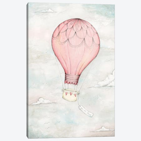 Above The Clouds I Canvas Print #SYA7} by Stacey Yacula Art Print