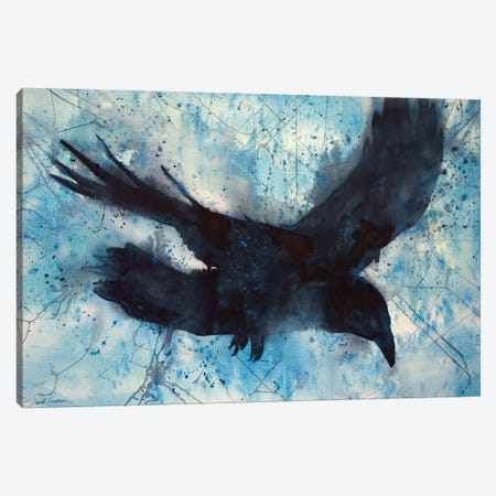 Flight Canvas Print #SYE11} by Sarah Yeoman Canvas Artwork